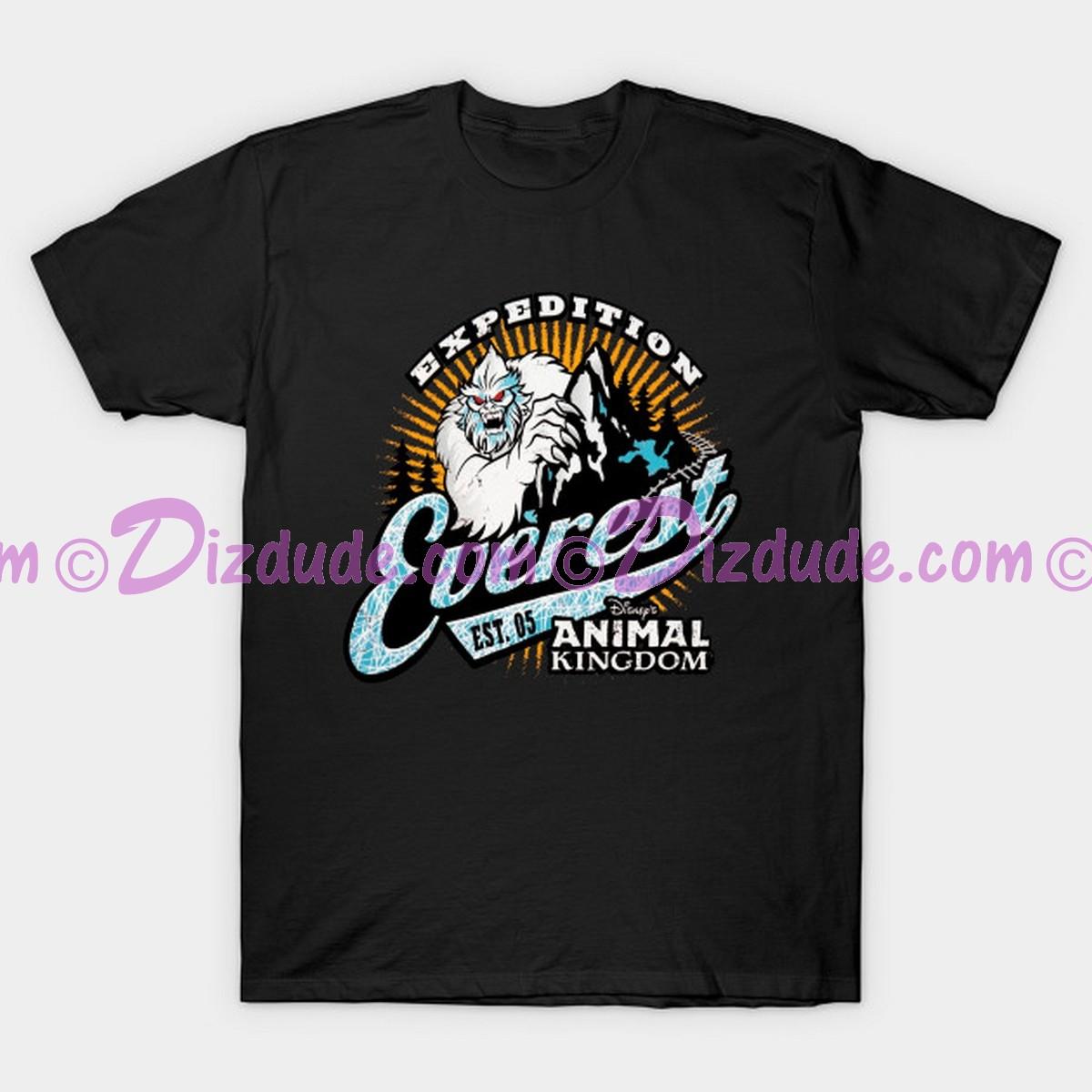 Yeti Logo Adult T-Shirt (Tee, Tshirt or T shirt) ~ Expedition Everest