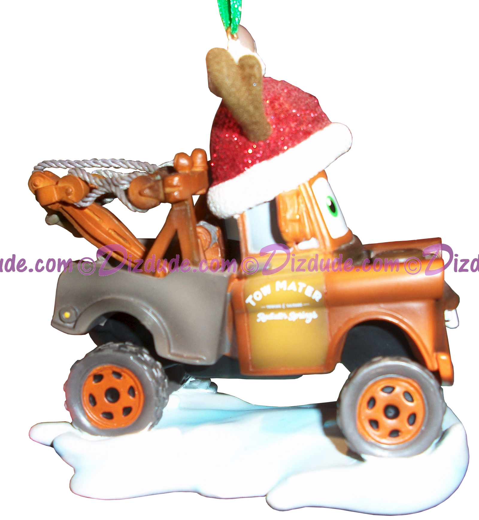 "Side of Disney Pixar ""Cars"" Mater Christmas Ornament © Dizdude.com"