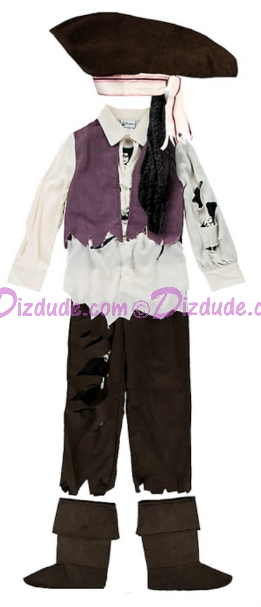 Pirates of the Caribbean Youth Pirate Costume ~ Disney Magic Kingdom