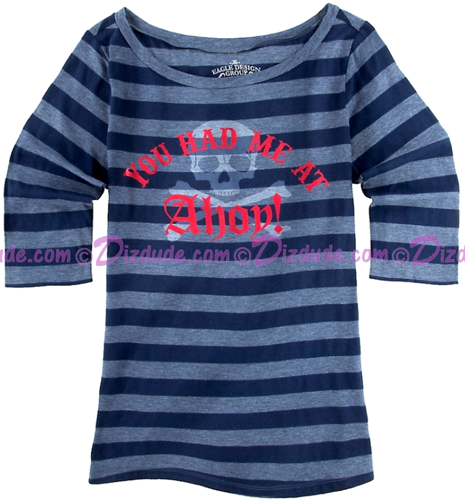 You Had Me At AHOY! Adult T-shirt (Tee, Tshirt or T shirt) ~ Disney's Pirates Of The Caribbean