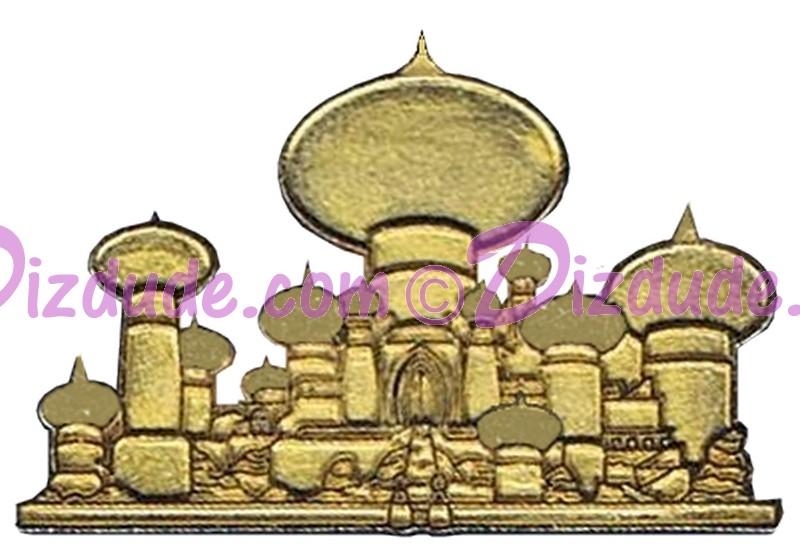 Walt Disney World - Cast Lanyard Series 1 - Princess Homes - Jasmine's Palace Pin © Dizdude.com