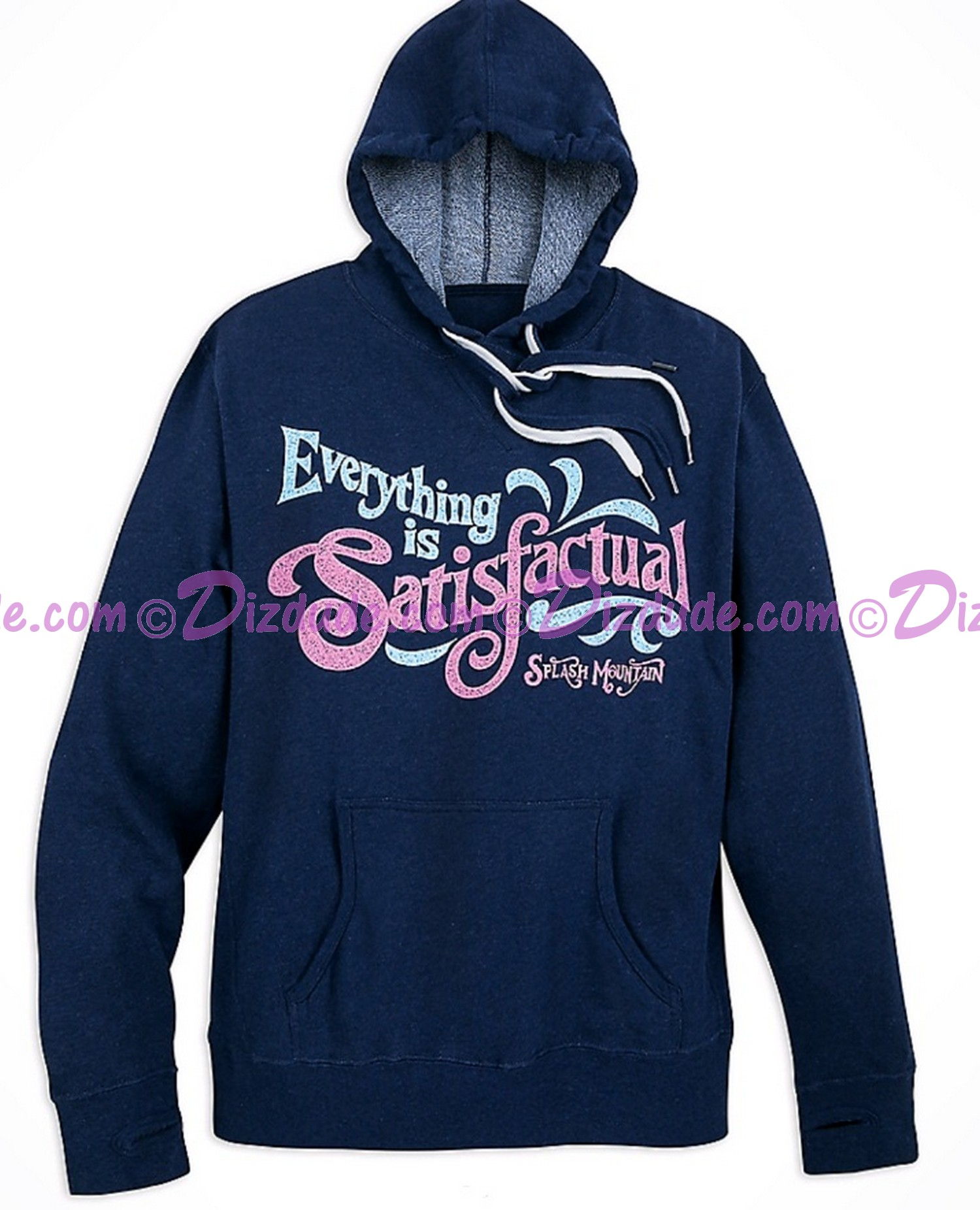 (SOLD OUT) Splash Mountain Ladies Hoodie ~ Disney Magic Kingdom