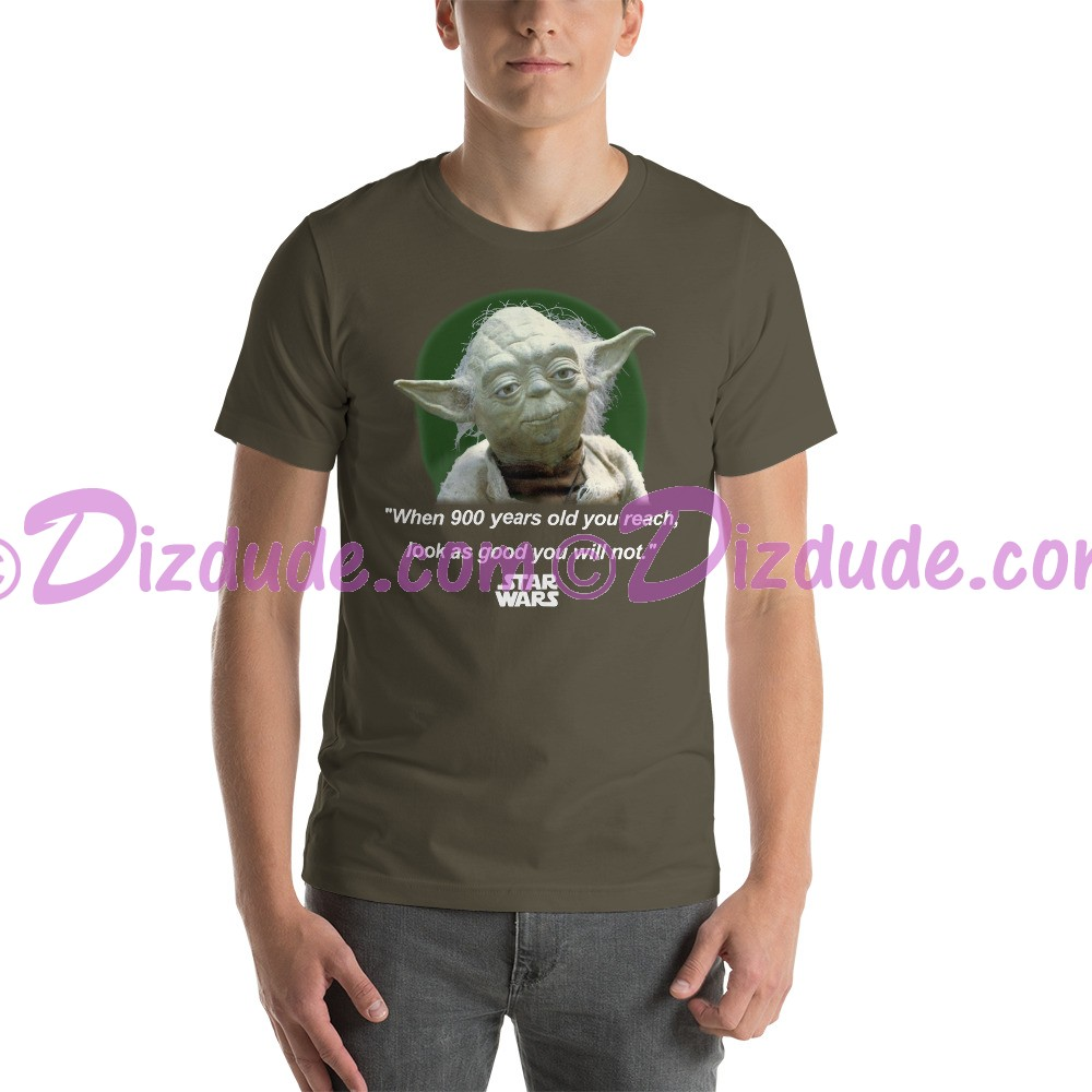 Vintage Star Wars Yoda T-Shirt When 900 years old you reach, look as good you will not  (Tshirt, T shirt or Tee) © Dizdude.com