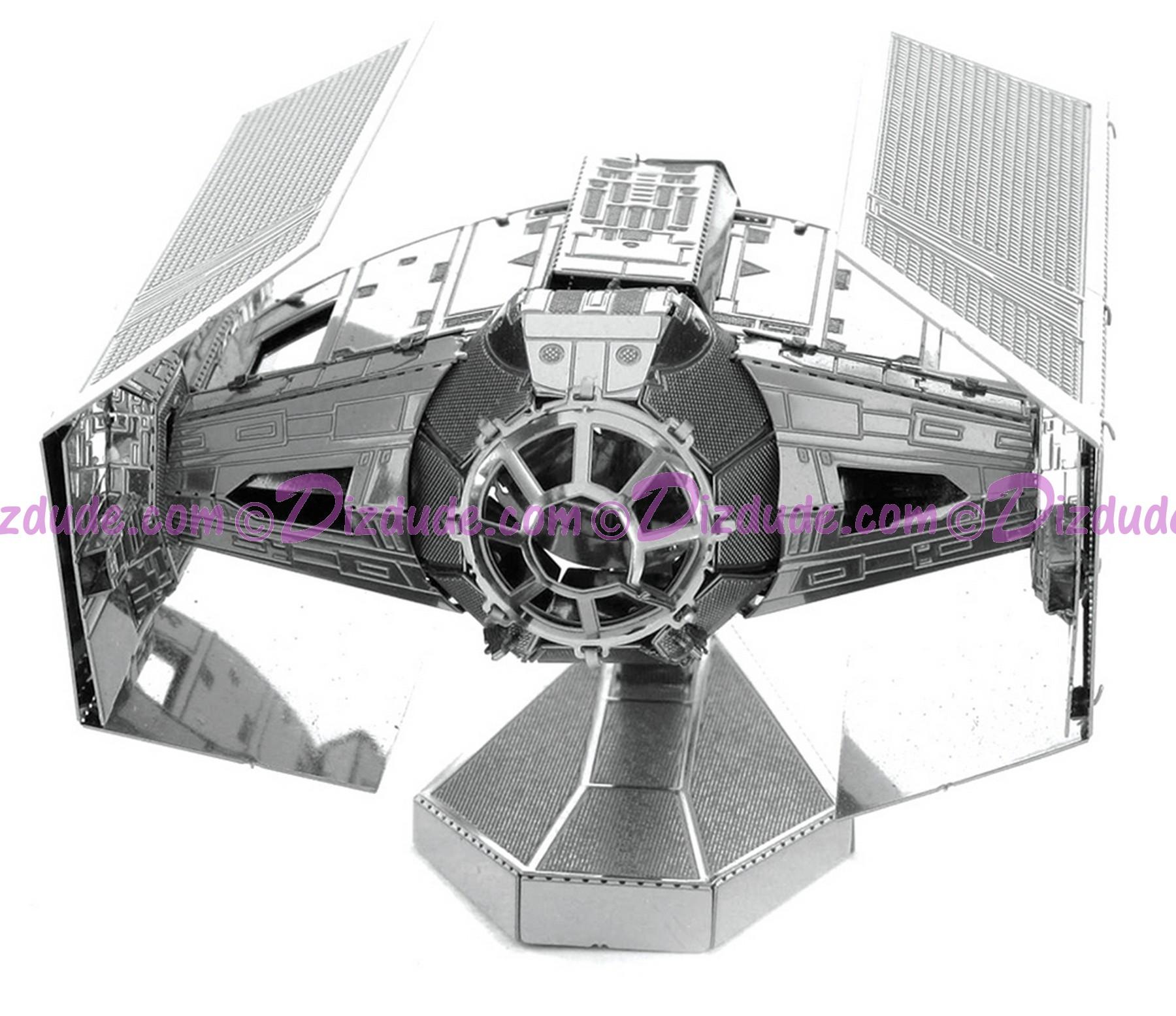 Disney Star Wars Darth Vader's TIE Fighter 3D Metal Model Kit © Dizdude.com