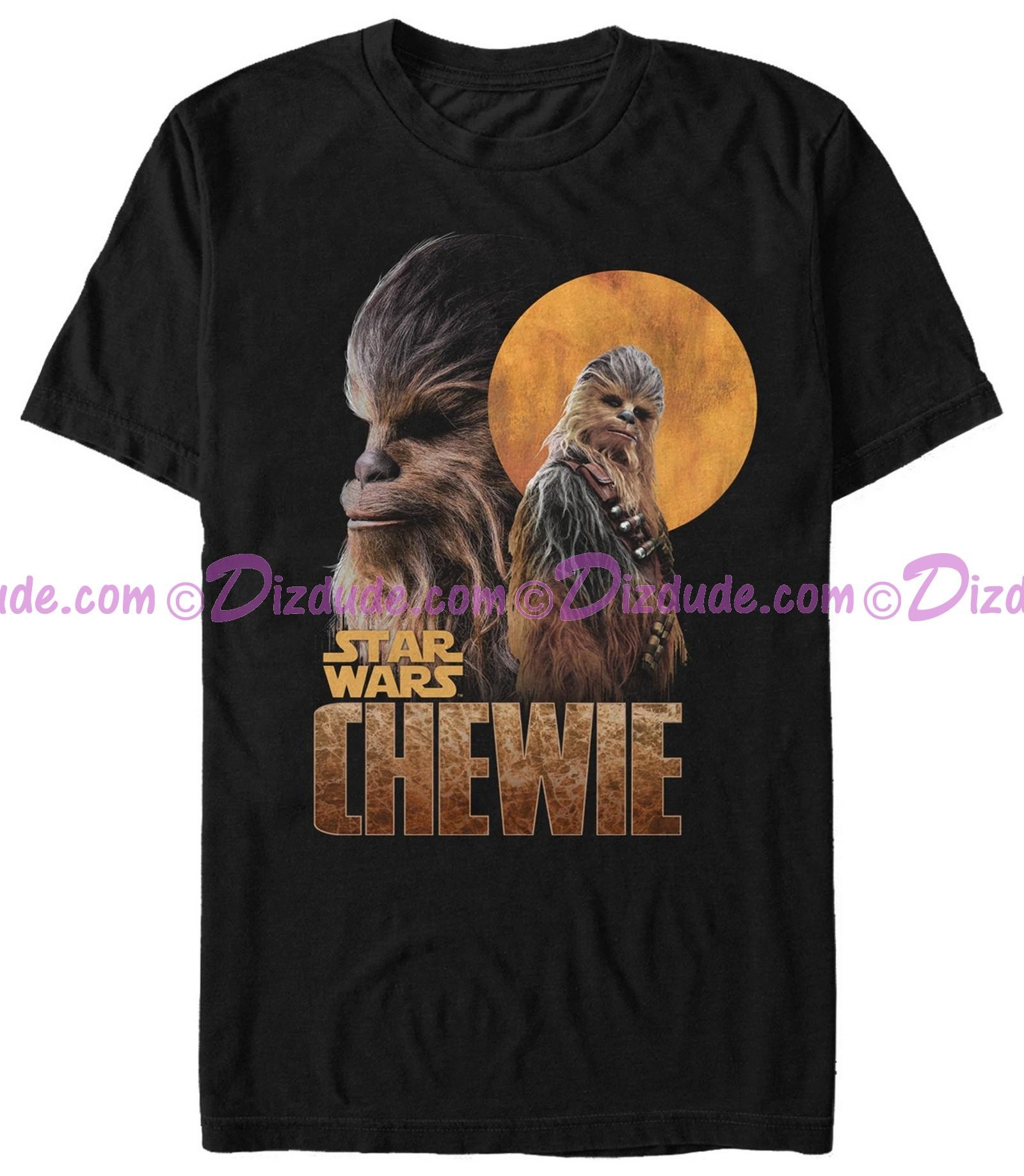 SOLO A Star Wars Story CHEWIE Adult T-Shirt (Tshirt, T shirt or Tee)  © Dizdude.com