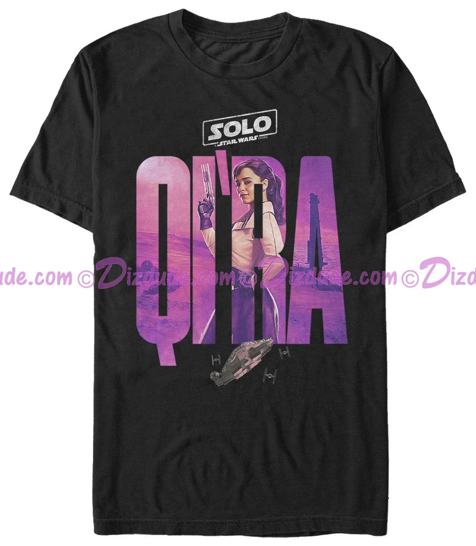 SOLO A Star Wars Story Qi'ra Logo Adult T-Shirt (Tshirt, T shirt or Tee)  © Dizdude.com