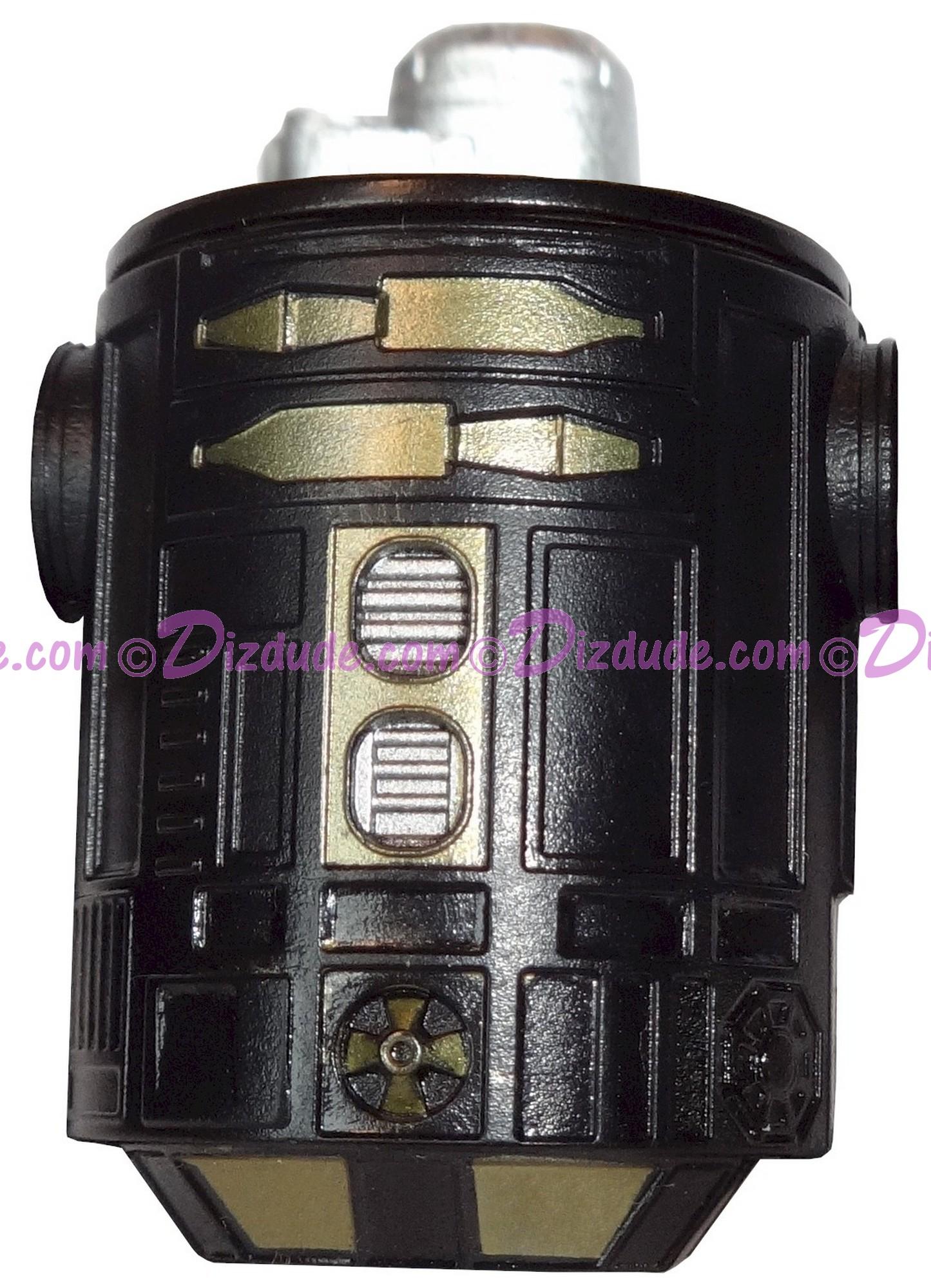 Black & Gold Astromech Droid Body ~ Series 2 from Disney Star Wars Build-A-Droid Factory © Dizdude.com