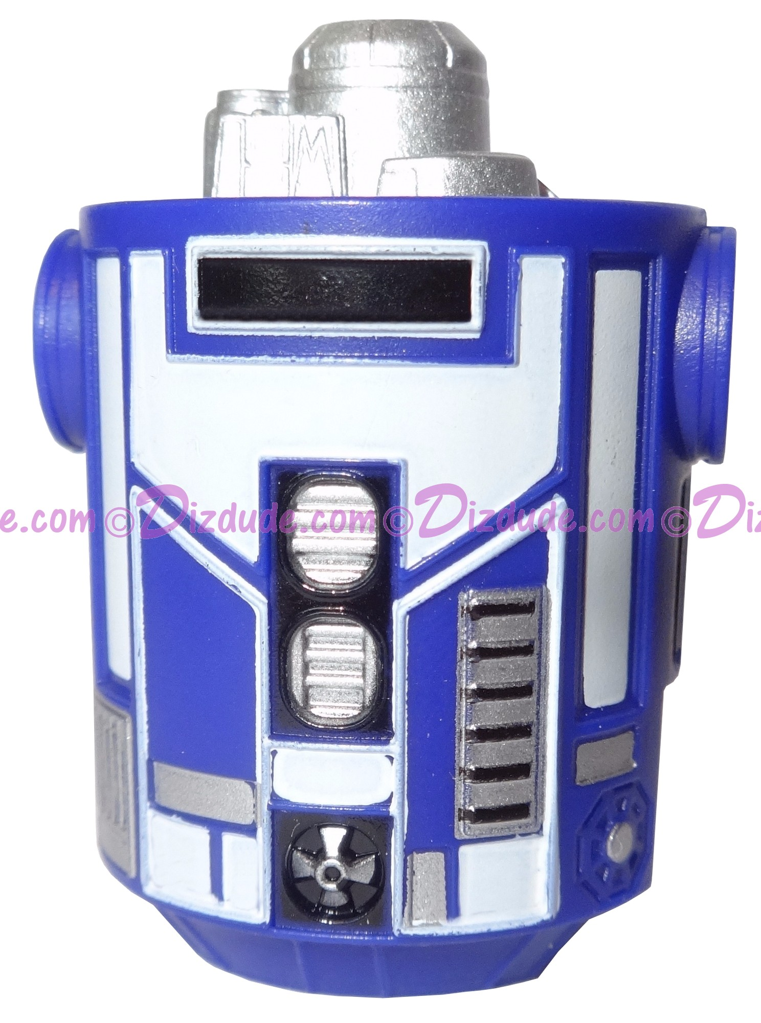 Blue Astromech Droid Body ~ Series 2 from Disney Star Wars Build-A-Droid Factory © Dizdude.com