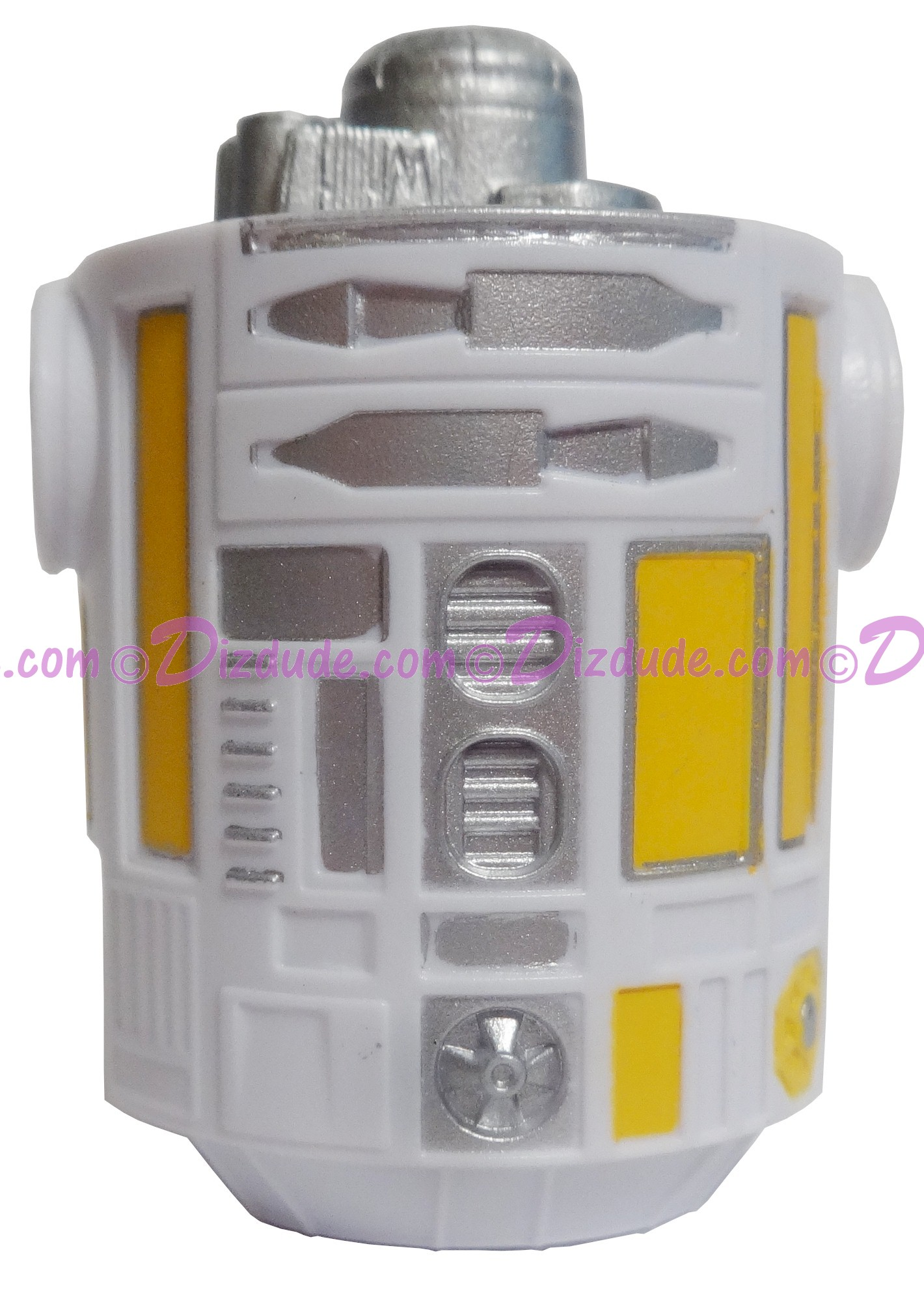 White & Yellow Astromech Droid Body ~ Series 2 from Disney Star Wars Build-A-Droid Factory © Dizdude.com