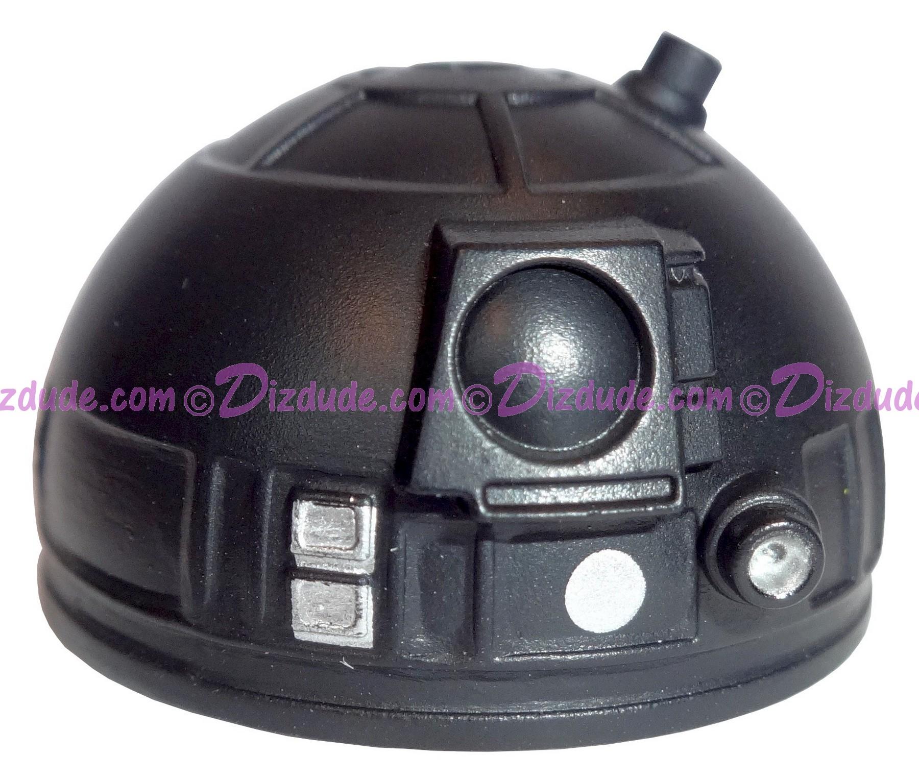 Black Astromech Droid Dome ~ Series 2 from Disney Star Wars Build-A-Droid Factory © Dizdude.com