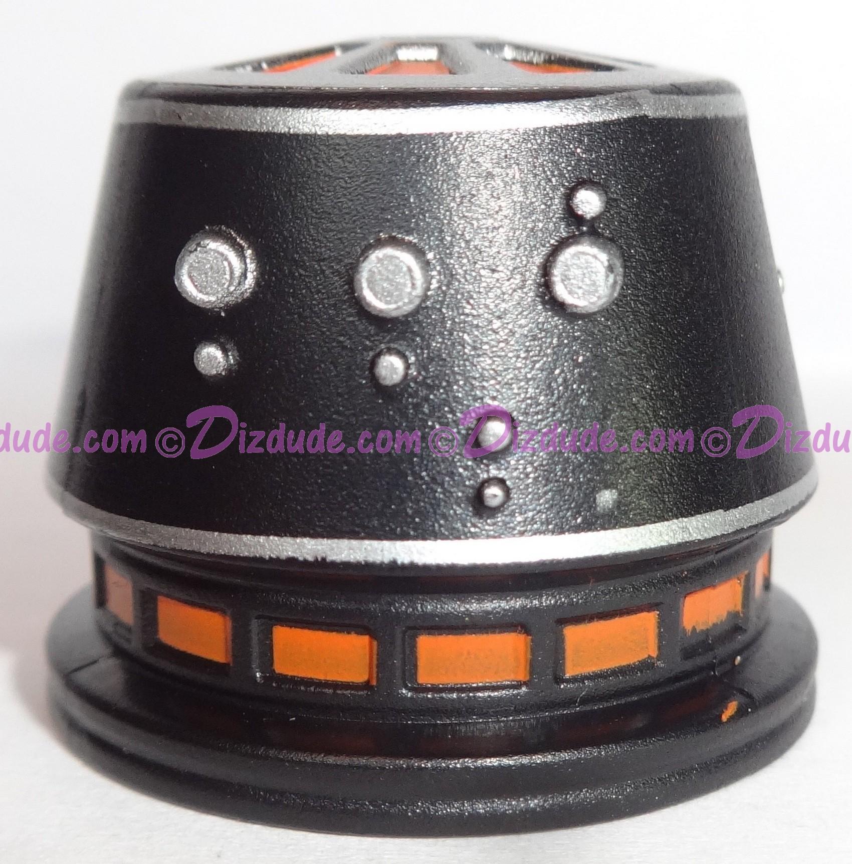 R5 Black Astromech Droid Dome ~ Series 2 from Disney Star Wars Build-A-Droid Factory © Dizdude.com