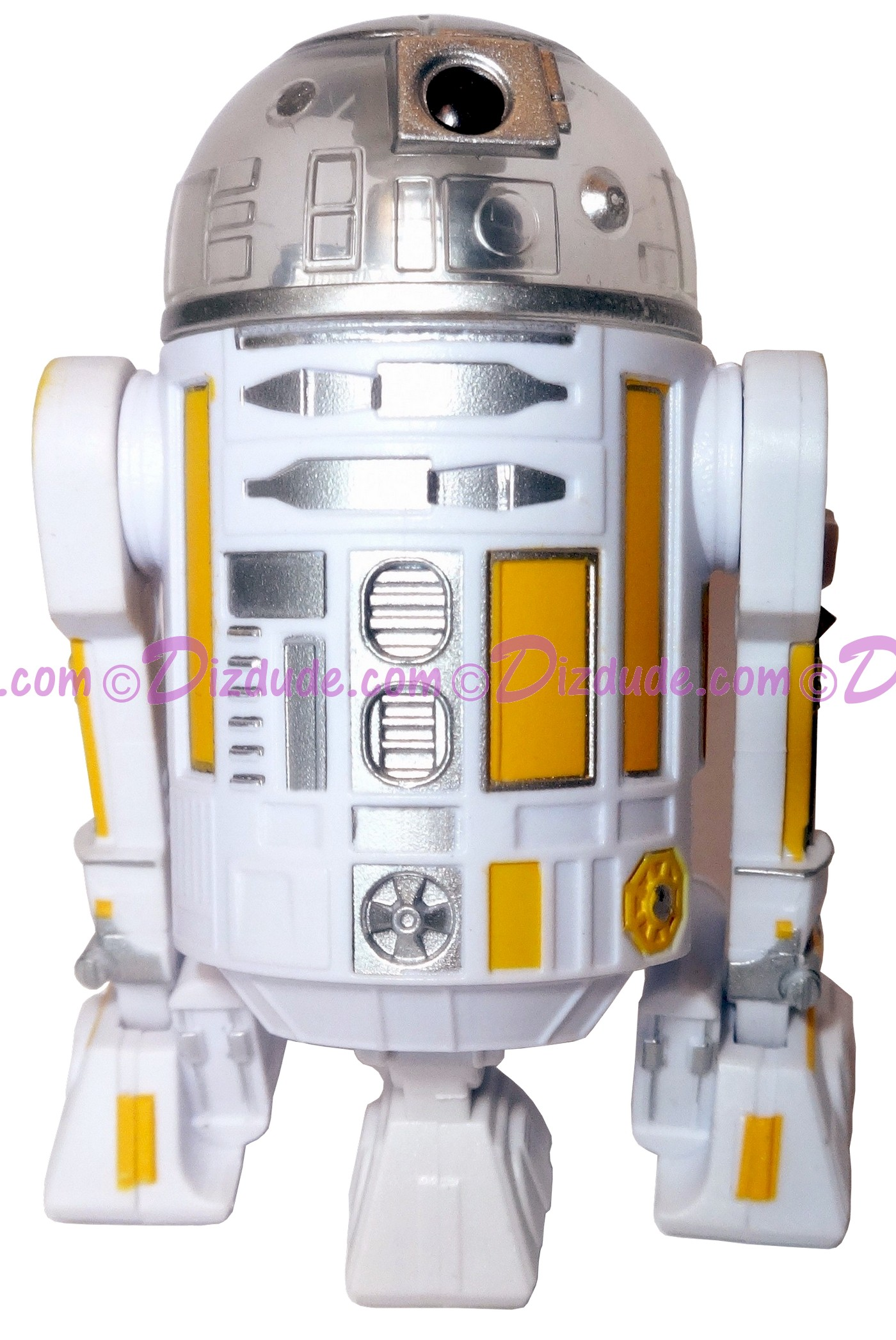 R3 White & Yellow Astromech Droid ~ Pick-A-Hat ~ Series 2 from Disney Star Wars Build-A-Droid Factory © Dizdude.com