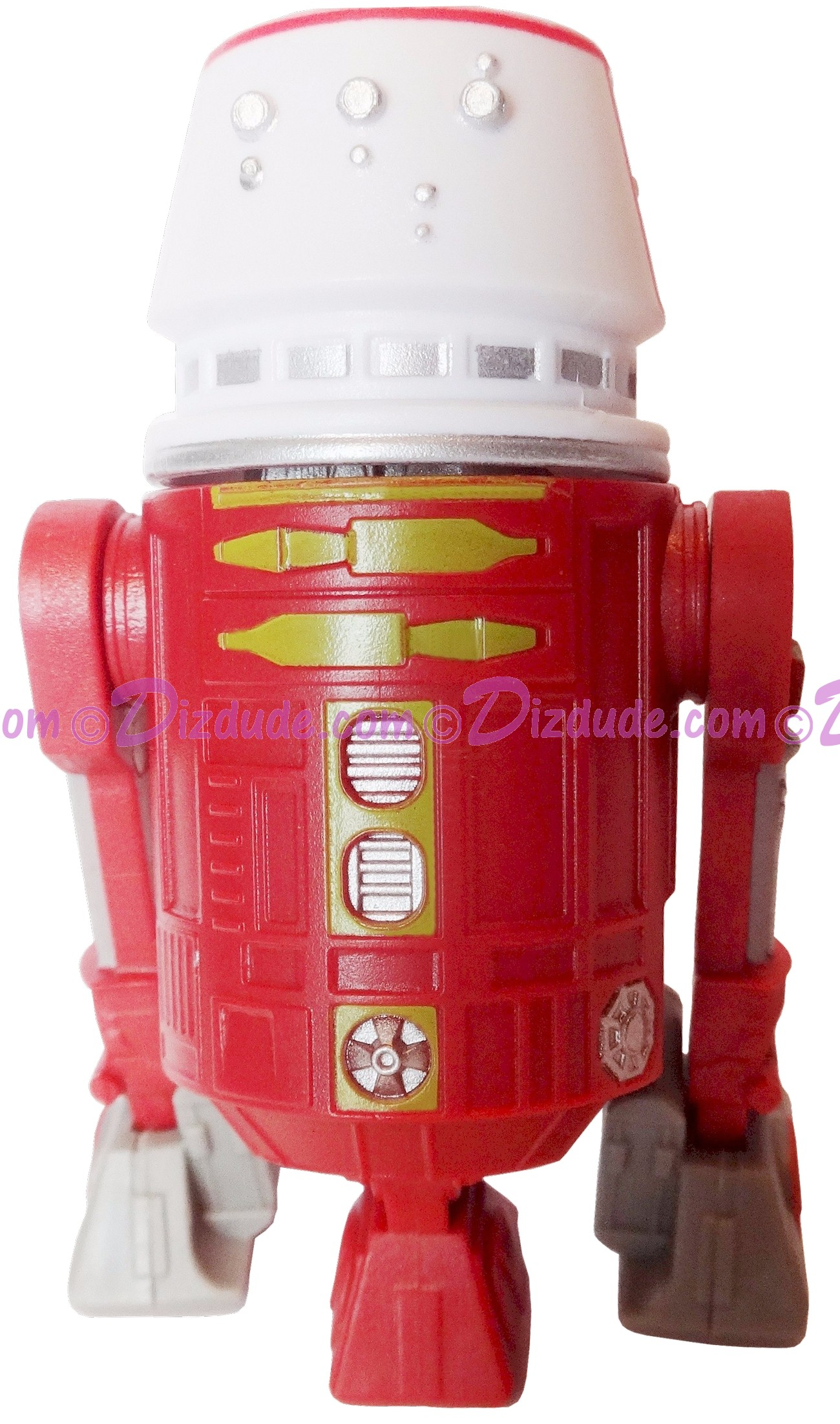 R5 Dark Red Astromech Droid ~ Pick-A-Hat ~ Series 2 from Disney Star Wars Build-A-Droid Factory © Dizdude.com