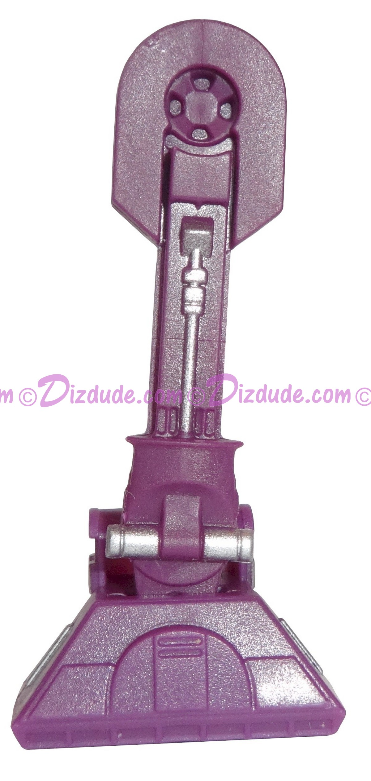 A Pair of Purple Astromech Droid Leg Parts ~ Series 2 from Disney Star Wars Build-A-Droid Factory © Dizdude.com