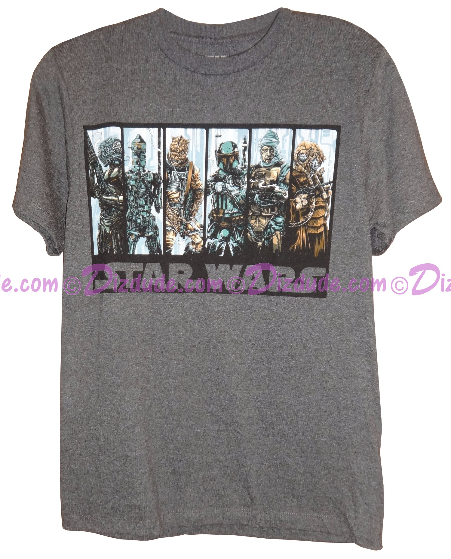 Bounty Hunters Adult T-Shirt (Tshirt, T shirt or Tee) - Disney Star Wars © Dizdude.com