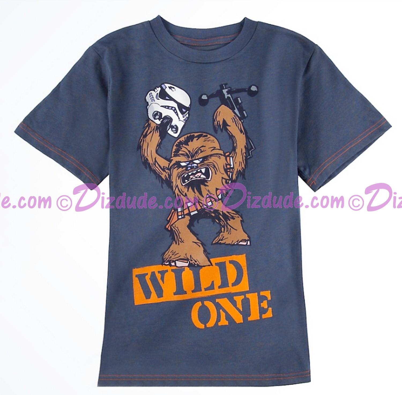 Chewbacca Wild One Youth T-shirt  (Tee, Tshirt or T shirt) - Disney Star Wars © Dizdude.com