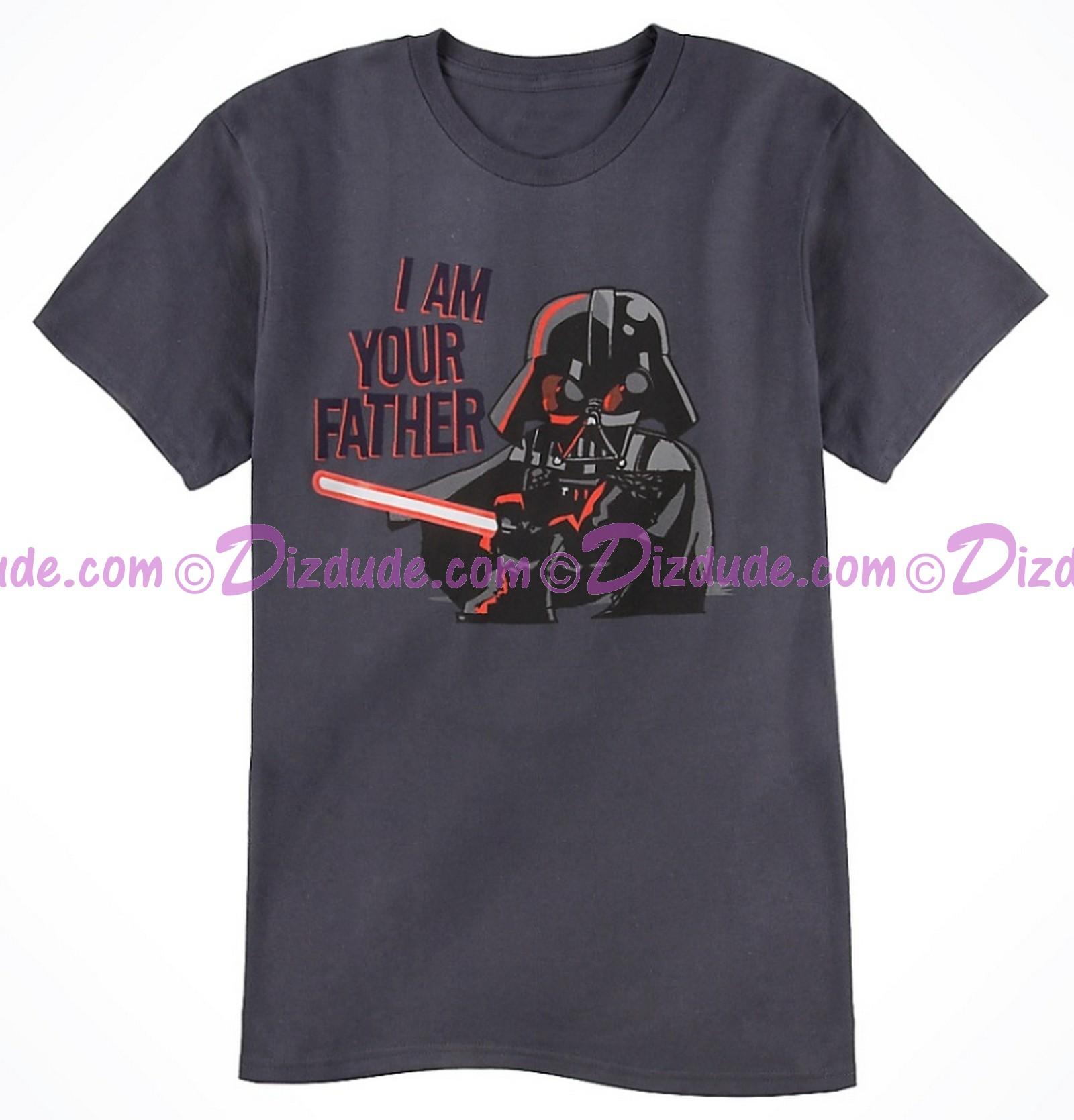 Vintage Star Wars Darth Vader I Am Your Father Adult T-Shirt (Tshirt, T shirt or Tee) © Dizdude.com