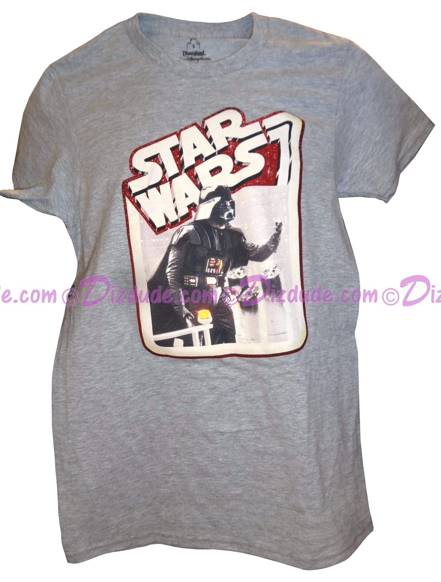 Disney Star Wars Darth Vader Adult T-Shirt (Tshirt, T shirt or Tee) © Dizdude.com