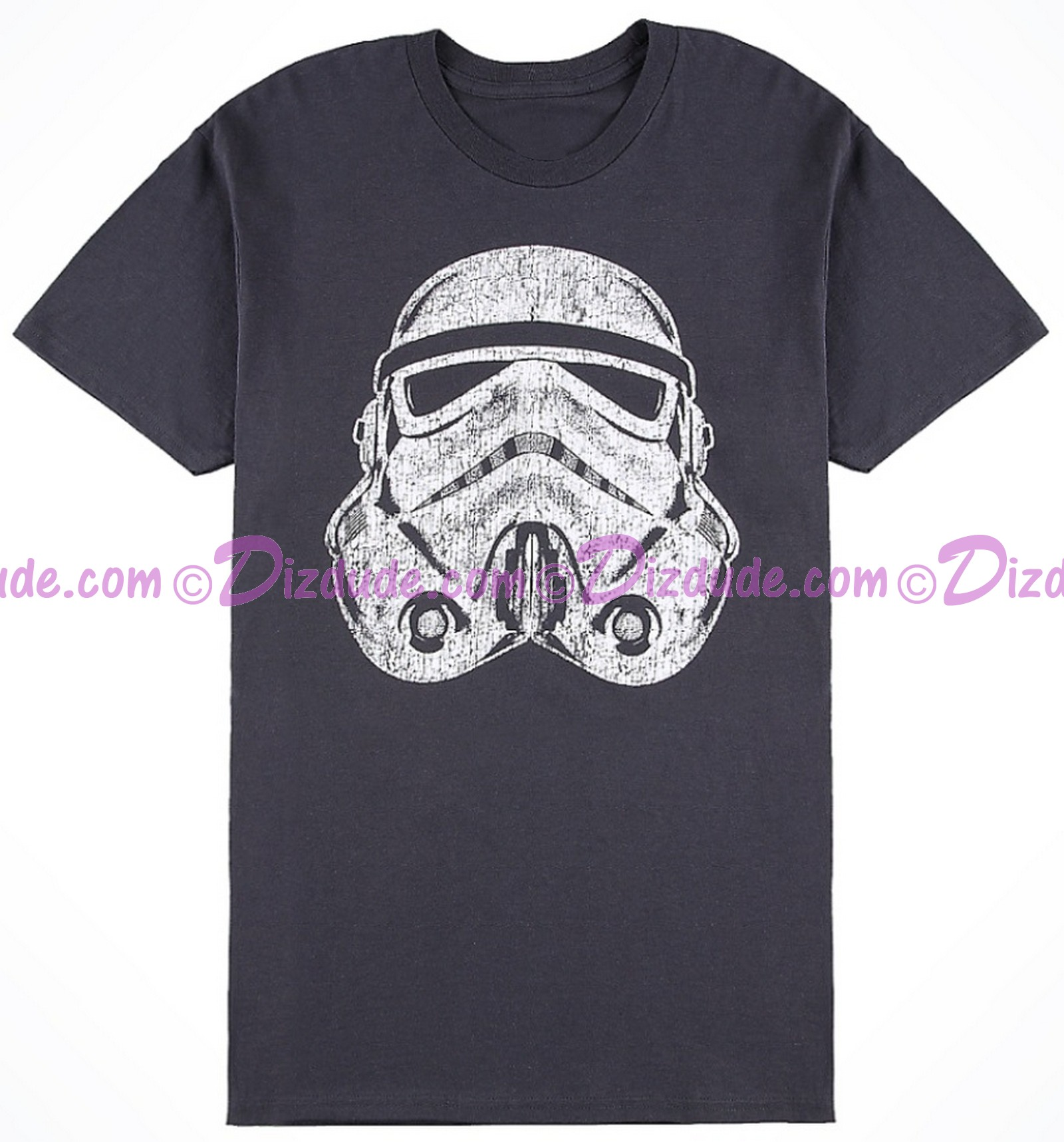 Vintage Star Wars Distressed Stormtrooper Adult T-Shirt (Tshirt, T shirt or Tee) © Dizdude.com
