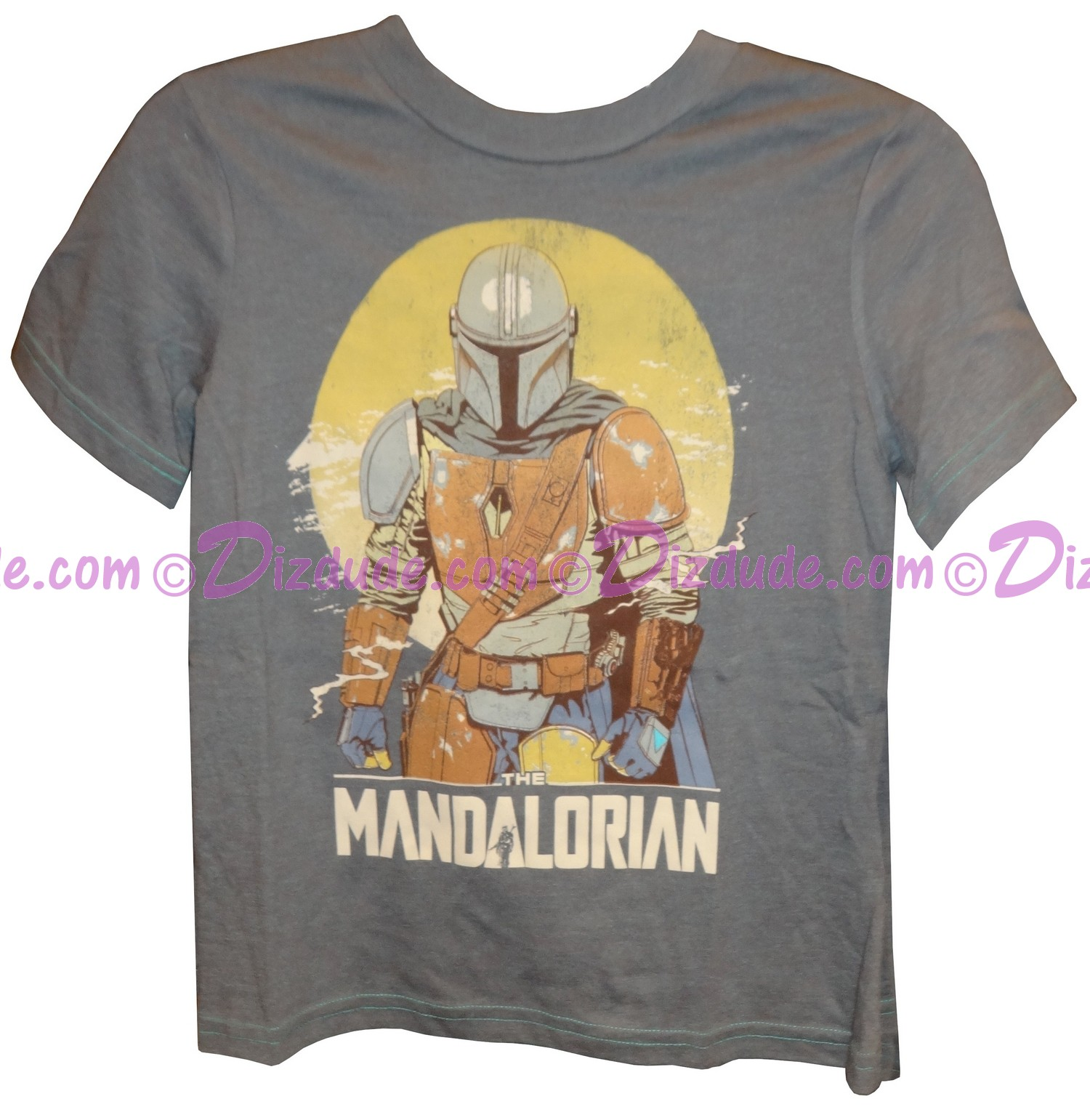 Disney Star Wars The Mandalorian Youth T-Shirt (Tshirt, T shirt or Tee) © Dizdude.com