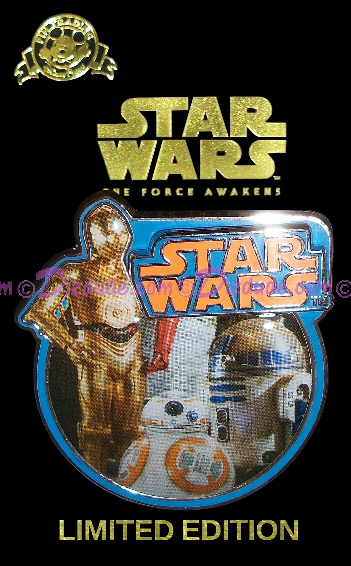 Star Wars The Force Awakens (Episode 7) - Droid Countdown #1 Pin Limited Edition © Dizdude.com