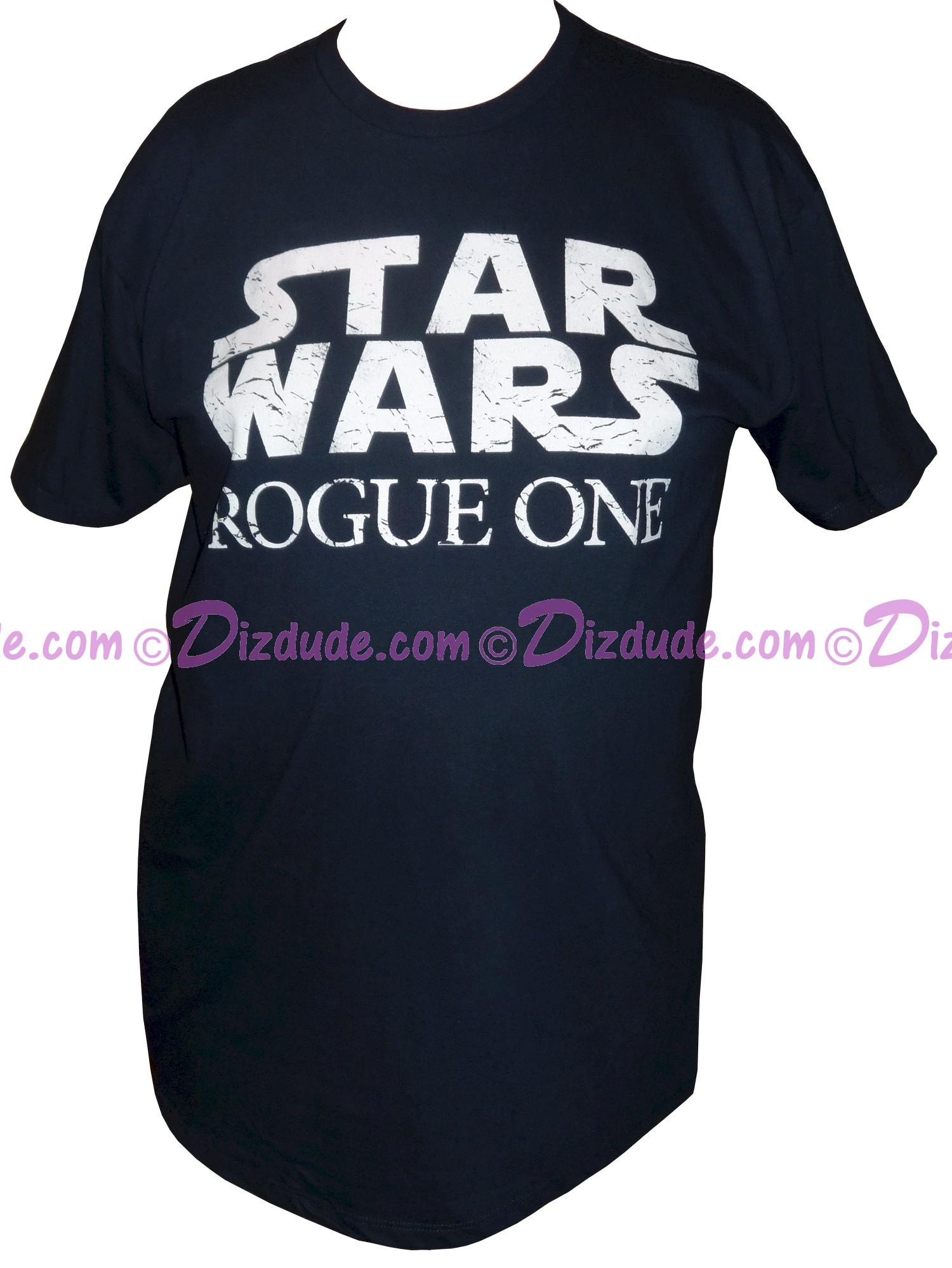 Rogue One Logo Adult T-Shirt (Tshirt, T shirt or Tee) - Disney's Star Wars