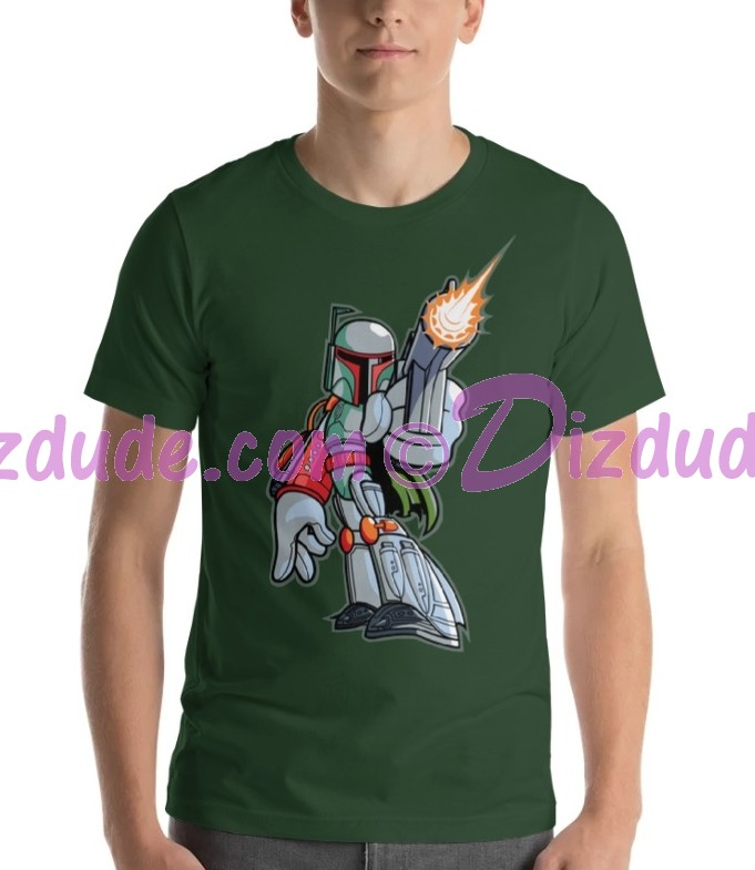 Vintage Star Wars Disney Boba Fett T-Shirt © Dizdude.com