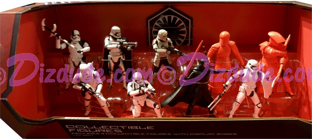 Star Wars Galaxy's Edge First Order Collectible Figures 9 Figure Set ~ Walt Disney World Exclusive © Dizdude.com