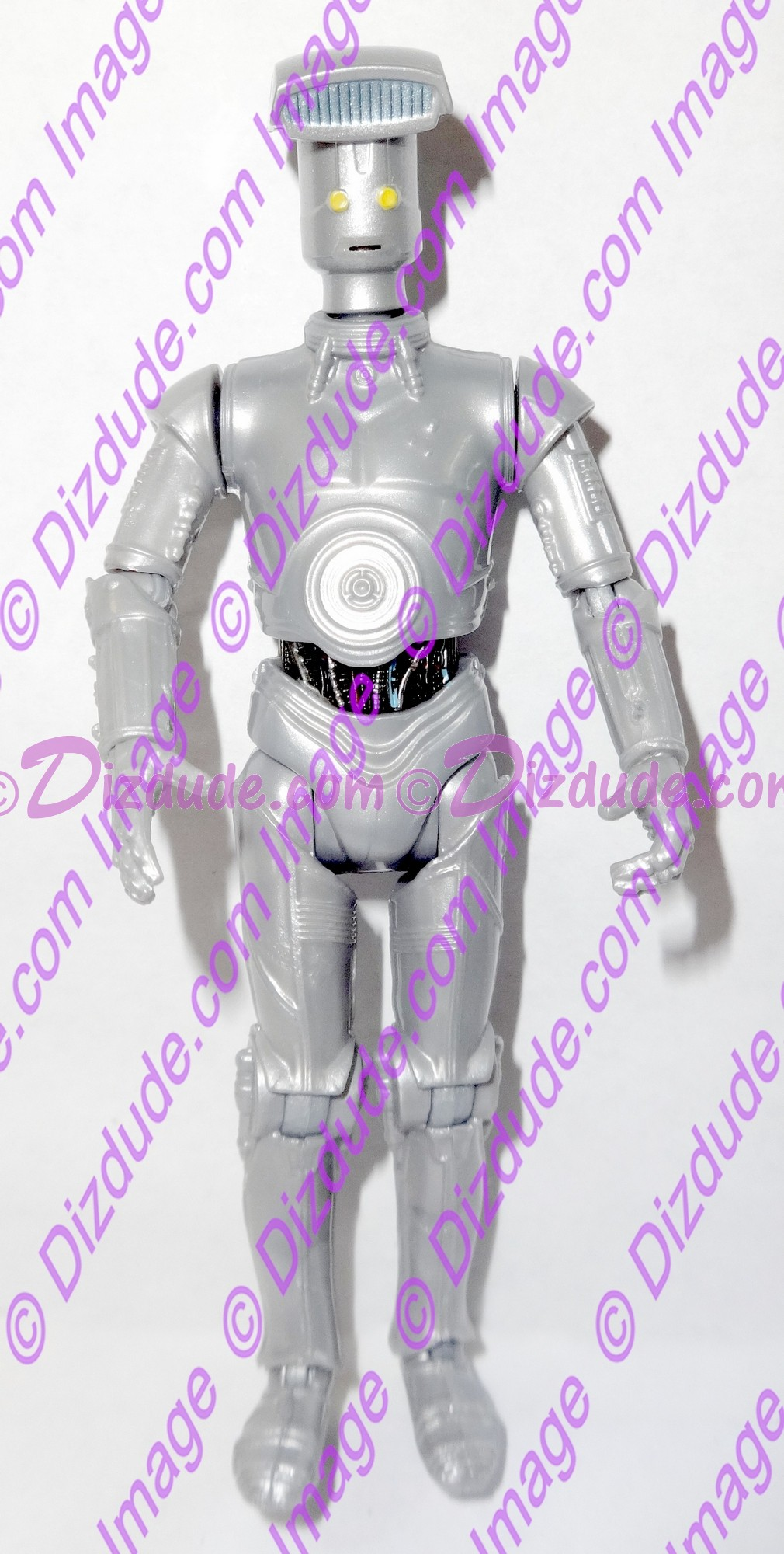 Silver Vender Protocol Droid from Disney Star Wars Build-A-Droid Factory © Dizdude.com