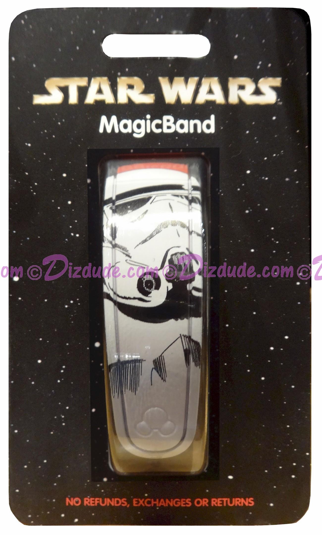 Disney Star Wars Stormtrooper Graphic Magic Band © Dizdude.com