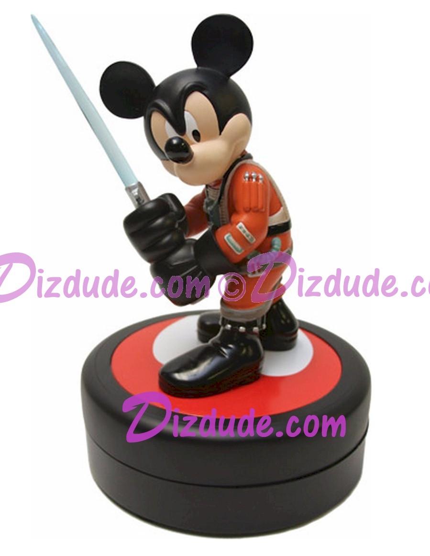 Jedi Mickey as X-Wing Pilot from Disneys Star Wars Weekends Medium Big Fig Limited Edition 1977~ © Dizdude.com