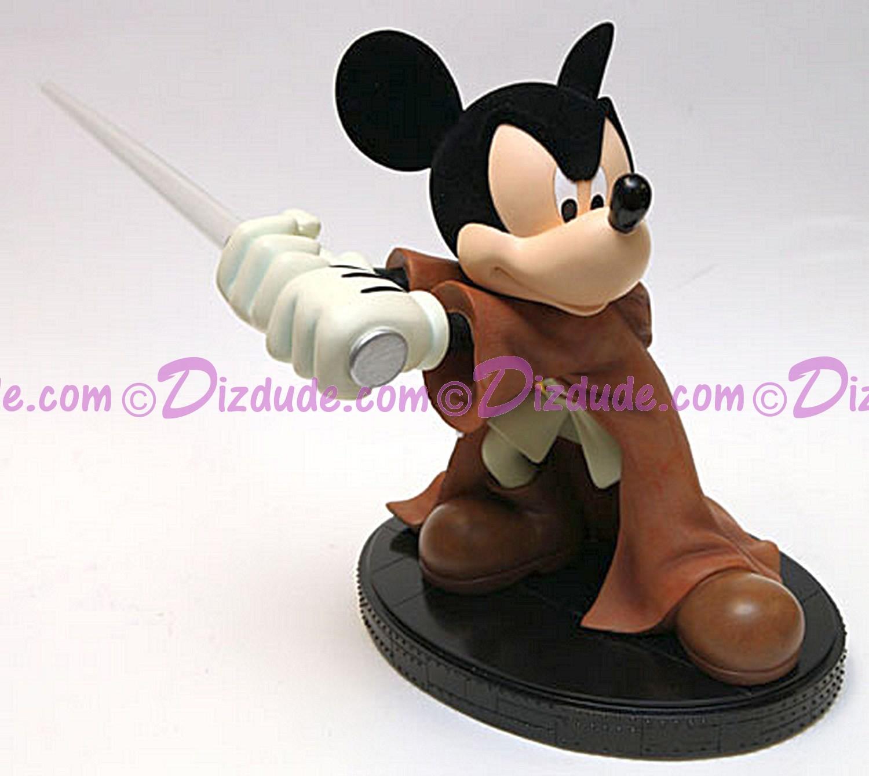 Disney Star Wars Medium Big Fig Mickey Mouse as Jedi Mickey ~ © DIZDUDE.COM