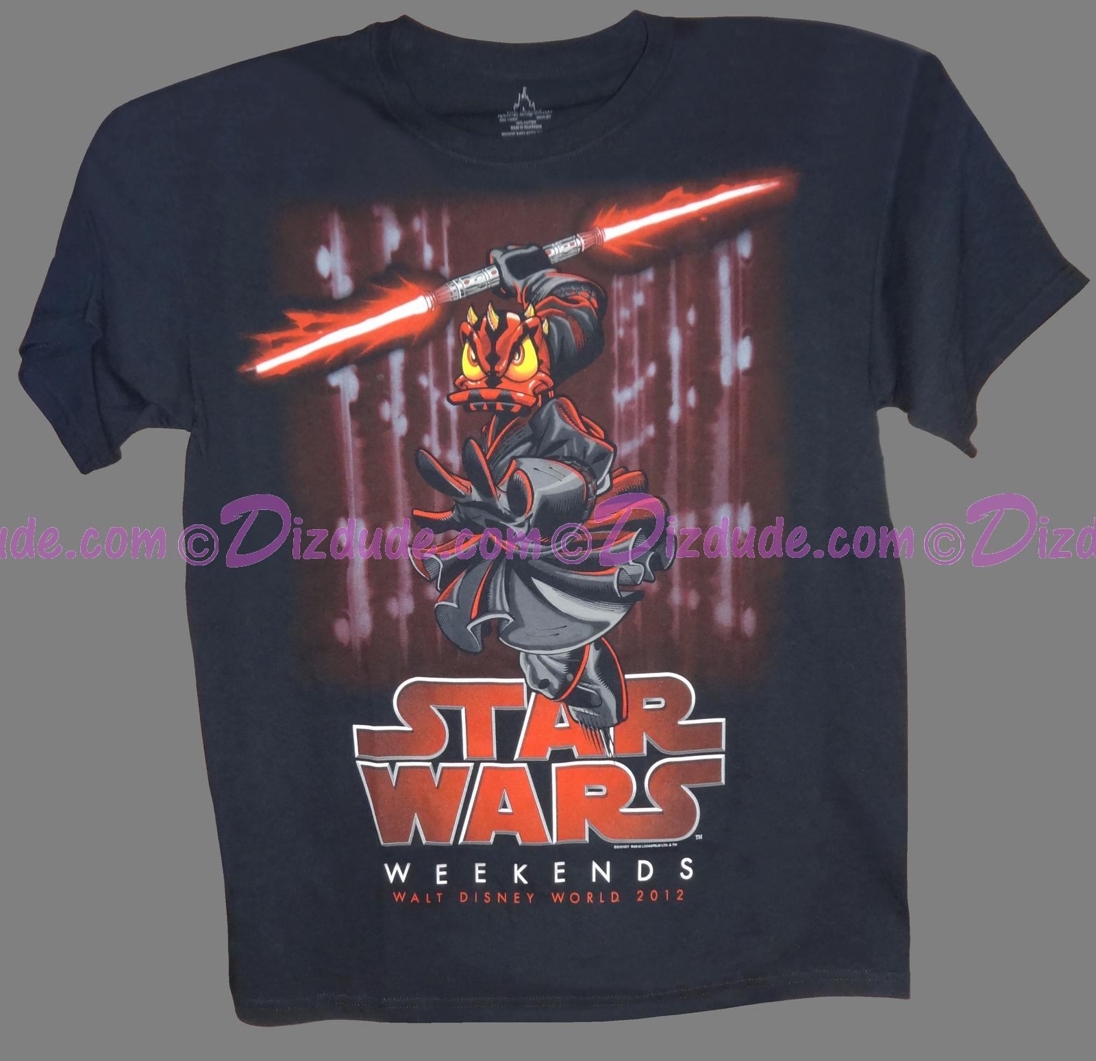 Original One of a kind Prototype Logo T-shirt - Disney Star Wars Weekend 2012 © Dizdude.com