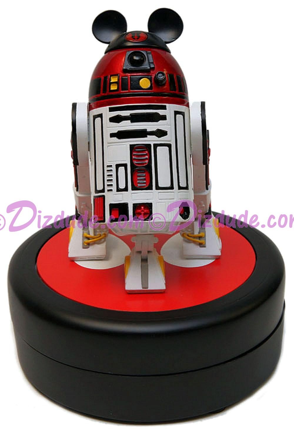 Disney Star Wars Medium Big Fig Jedi Mickey's Droid R2-MK ~ © DIZDUDE.COM