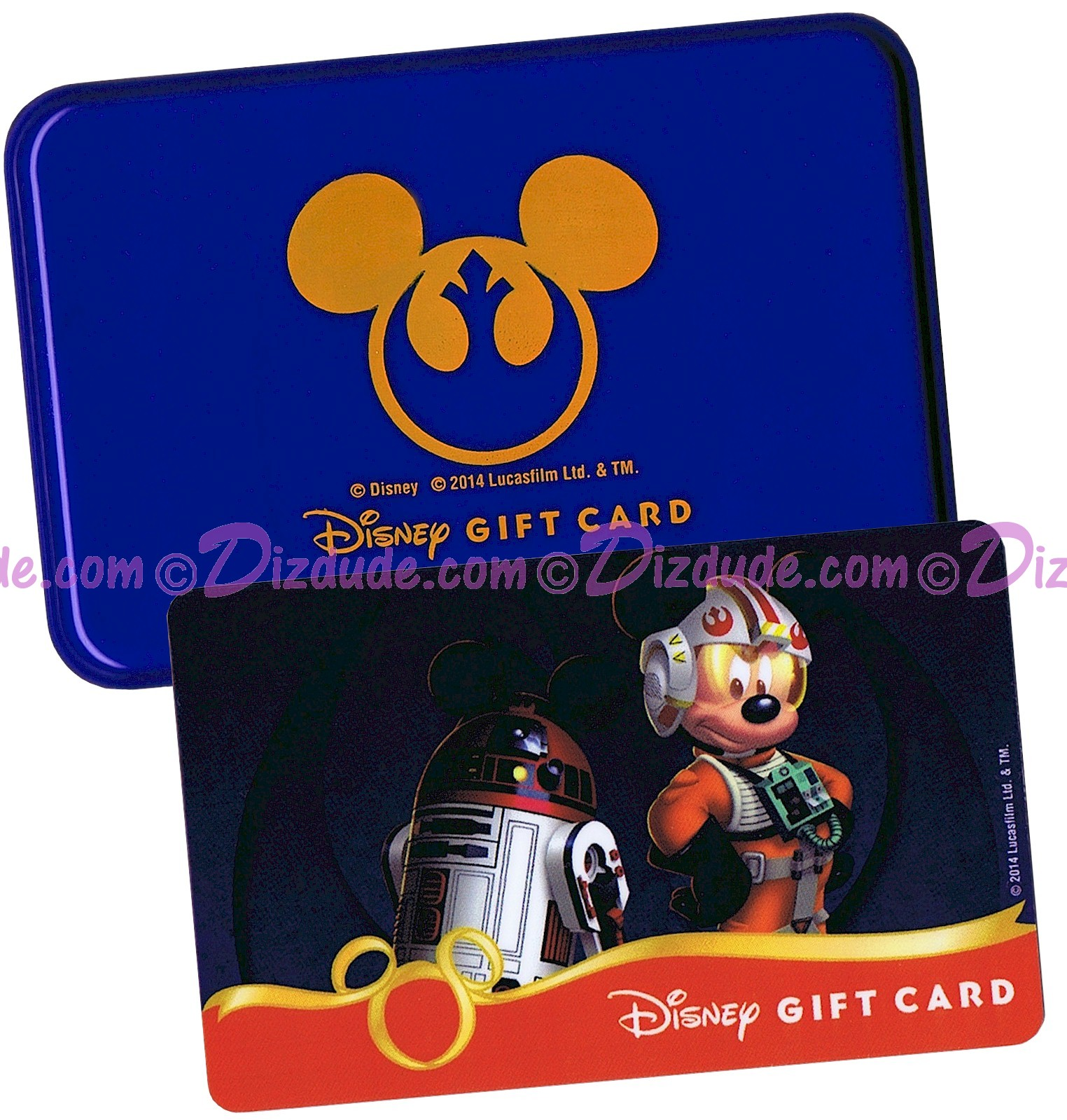 Star Wars REBELS Gift Card with Case Limited Edition ~ Disney Star Wars Weekend 2014  © Dizdude.com