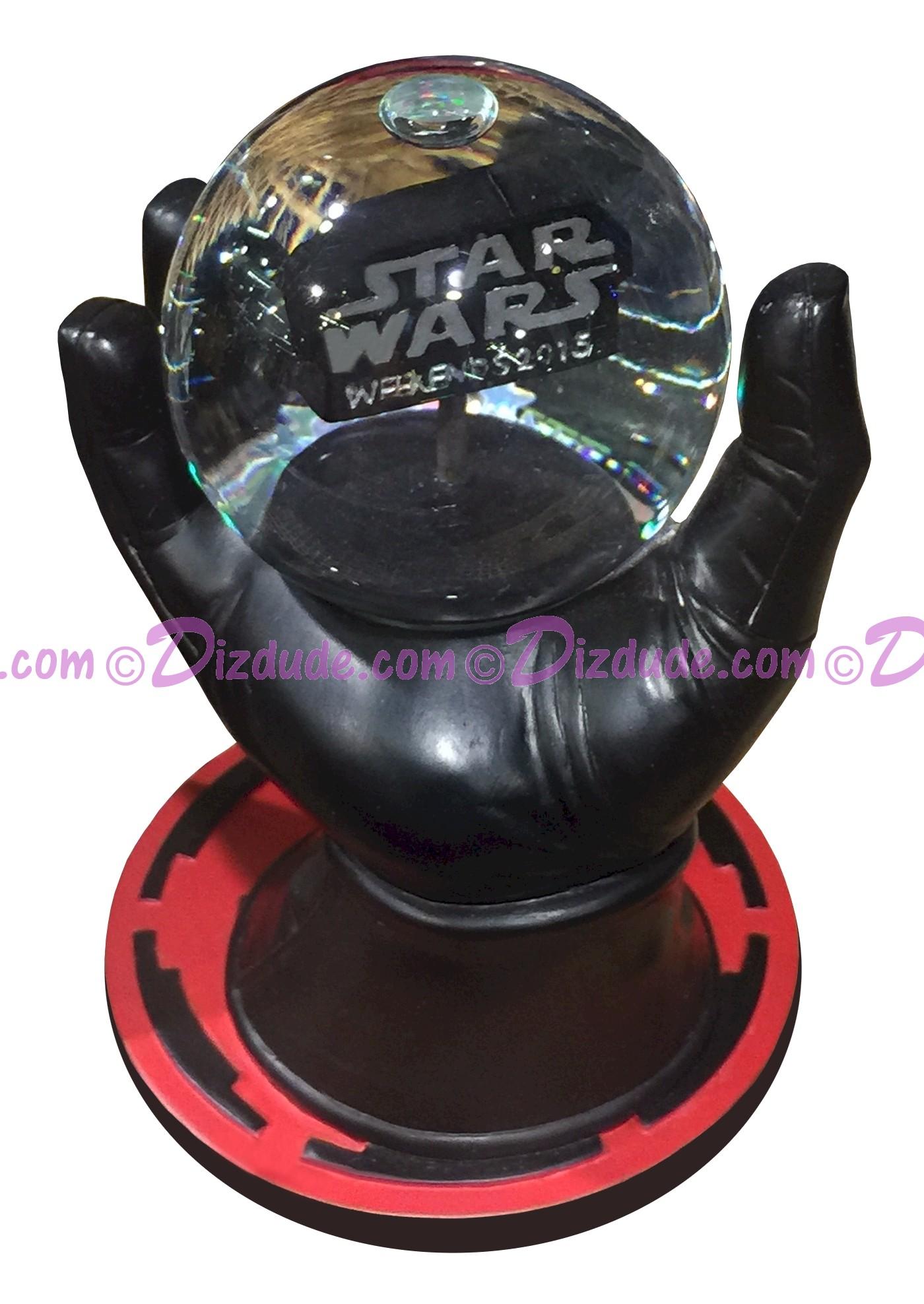 Disney Parks Star Wars Weekends 2015 Darth Vader Hand Snowglobe Snow Globe