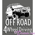 Off Road 4 Wheel Driving T-Shirt or Tank Top (Tshirt, T shirt or Tee)