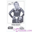 Ashley Eckstein the voice of Ahsoka Tano Presigned Official Star Wars Weekends 2013 Celebrity Collector Photo