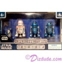 Star Wars Episode IX The Rise of Skywalker Droid Set Action Figures 3¾ Inch 4 Droid Multi-Pack with D-0 • R5-2JE • R6-LE5 • R2-SHP