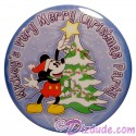 Walt Disney World Mickey's Very Merry Christmas Party 2003 Button