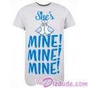 Disney / Pixar Finding Nemo Companion Shirt She's Mine Adult T-shirt (Tee, Tshirt or T shirt)
