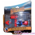 Racer Launcher with Sorcerer Mickey Racer - Disney Racers Die cast metal body race car 1/64 scale
