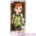 "Disney Frozen Anna 15"" Doll - Animators Collection ~ Walt Disney World"