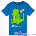 VINTAGE Dinosaur #Selfie Youth T-shirt (Tee, Tshirt or T shirt) - Animal Kingdom Dino Institute