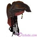 Disney's Pirates of the Caribbean Captain Jack Sparrow Hat ~ Disney Magic Kingdom