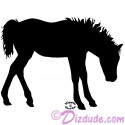 Silhouette Foal Shaking T-Shirt or Tank Top (Tshirt, T shirt or Tee)
