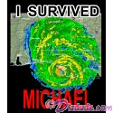 I Survived Hurricane Michael T-Shirt or Tank Top (Tshirt, T shirt or Tee)