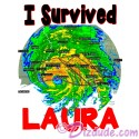 I Survived Hurricane Luara T-Shirt and Tank Top (Tshirt, T shirt or Tee)