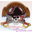Walt Disney World Pirates of the Caribbean Skull & Cross Swords Pin