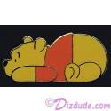 Walt Disney World - Simple Series Pooh Laying Down Pin